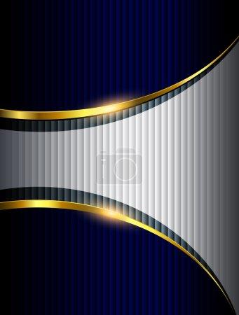 Illustration for Business background, elegant vector illustration. - Royalty Free Image