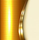 Business background elegant gold vector illustration