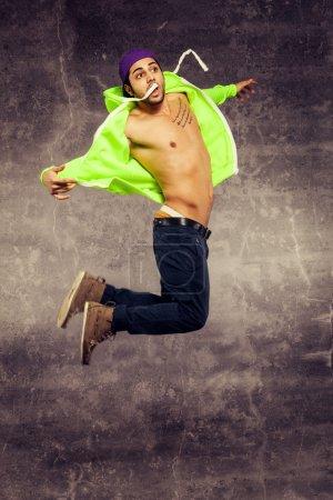 Jumping danser