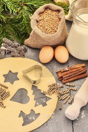 Christmas home made cookies
