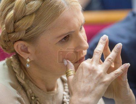 Peoples deputy of Ukraine Yulia Timoshenko