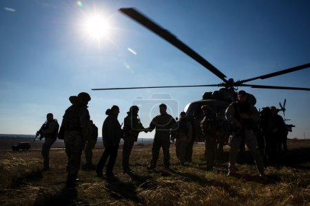 President of Ukraine Petro Poroshenko inspected the fortificatio