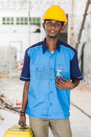 indian male contractor