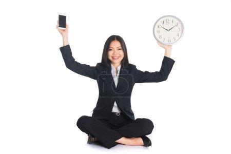 Asian woman - balance