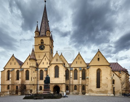 Medieval catholic cathedral