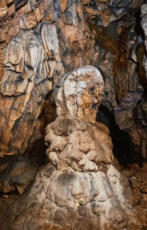 old cave with beautiful speleothems