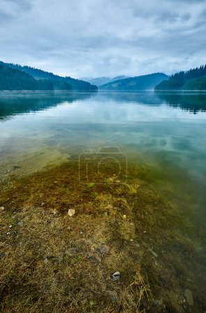 Lake Vidra in Romania