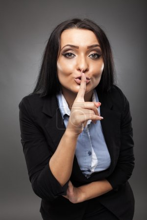 Business secrecy concept