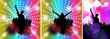 Music party illustration
