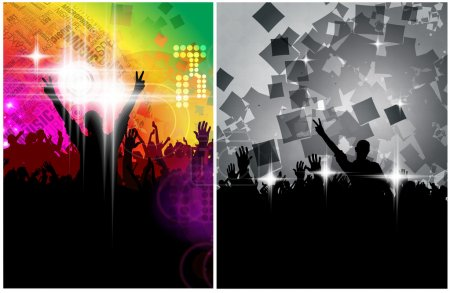 Festival, party illustration