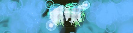 Concert, disco party.