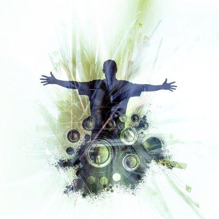 Music event illustration