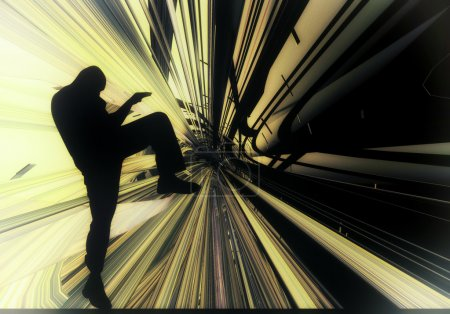 Photo for Martial art background illustration - Royalty Free Image