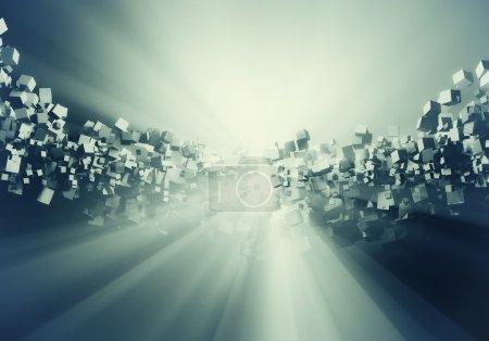 3D space cubes