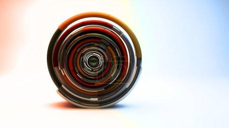 Photo pour 3d abstrait futuriste - image libre de droit