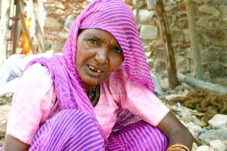 Nice woman wearing traditional sari