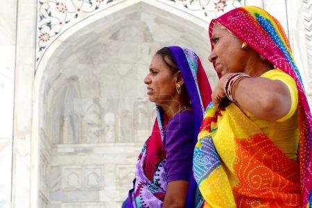 Women wearing sari