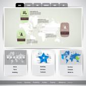 Webová šablona obchodního