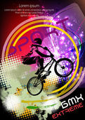 BMX rider Vector design
