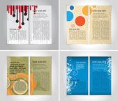 Design broschure template