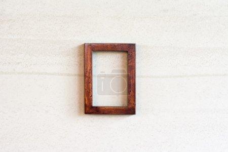 old photo wooden frame