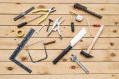 tools with wooden