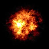 Velký požár exploze