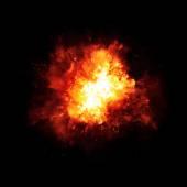 Výbuch oheň