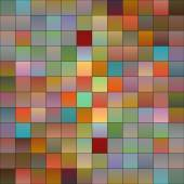 Colorful squares or pixels from light to darkgradiant colors
