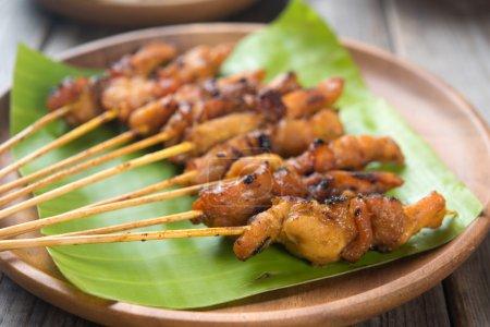 Asian chicken satay