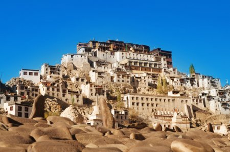 India Ladakh Leh Thiksey Monastery
