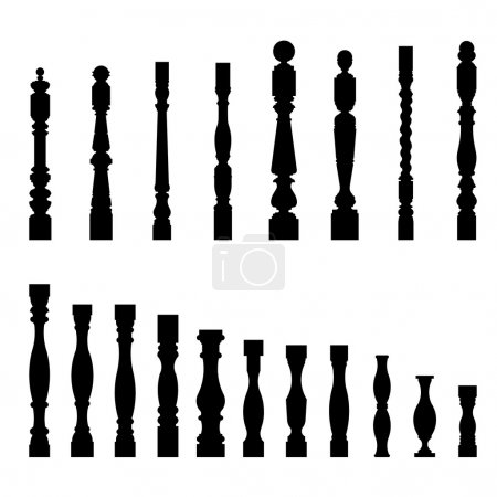 Set of architectural element