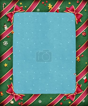 bright festive frame