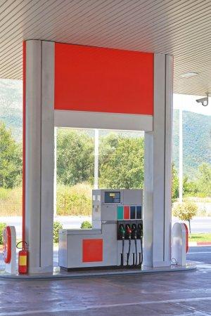Petrol Fueling Station