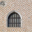 Arch Window at Doge Palace in Venice...