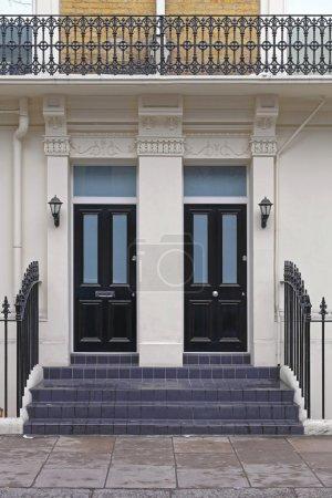 Two Black Doors