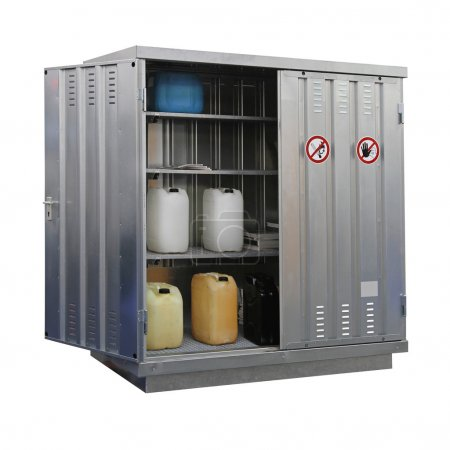 Hazardous materials storage
