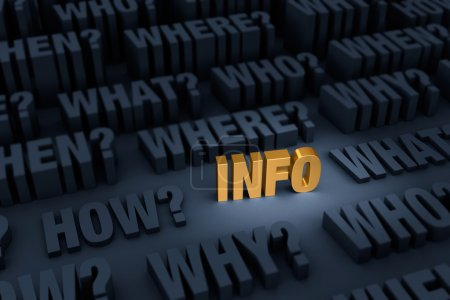 Gold Info Surrounded By Looming Questions