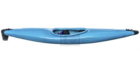 whitewater kayak isolated