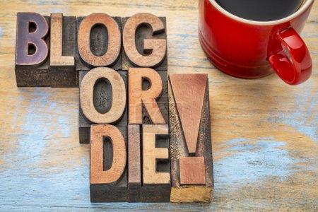 Blog oder die Typografie