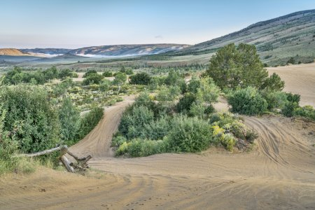 trails in North Sand Hills