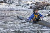 sea kayak on a river