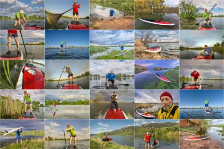 collection of stand up paddling (SUP) pictures