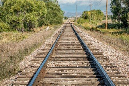 railroad tracks in Colorado