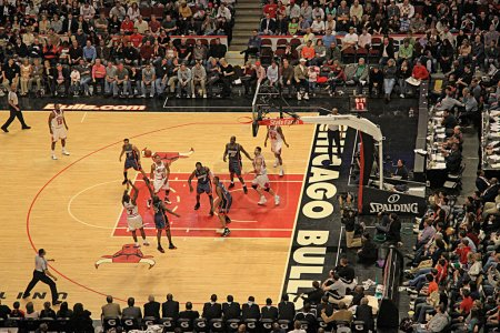 Basketball Charlotte vs Chicago Bulls
