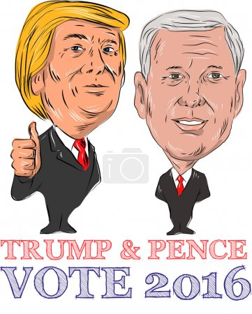 Trump and Pence Vote 2016