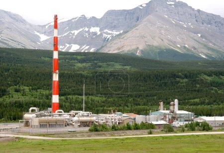 Photo pour Usine de gaz naturel - image libre de droit