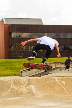 skateboard competetion.