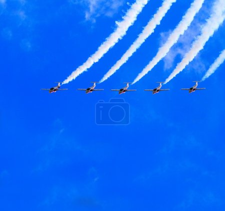 LETHBRIDGE CANADA - JUN 25, 2015: The Snowbirds De...