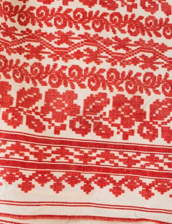 Embroidered towels from Ukraine
